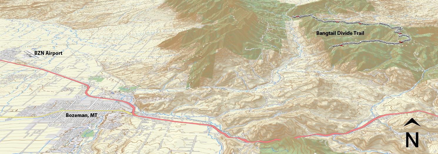 Bangtail Divide Trail – MTB Trail Maps